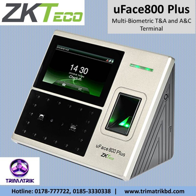 ZKTeco uFace800 Plus Bangladesh, ZKTeco uFace800 Plus Price in BD