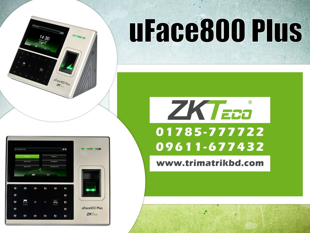 ZKTeco uFace800 Plus Bangladesh | ZKTeco uFace800 Plus Price in BD